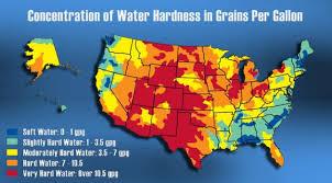 Water Hardness Map