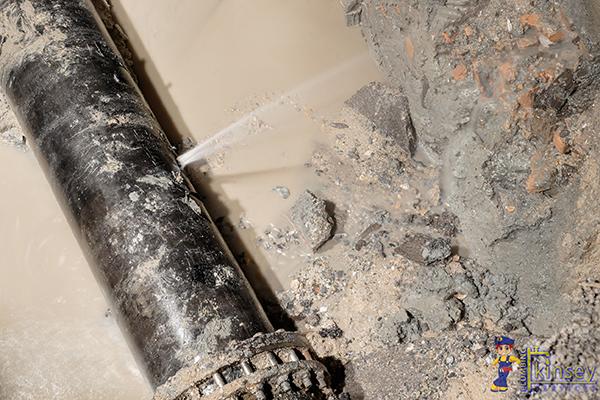 Plumbing emergency - Water Lead