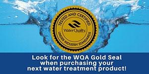 WQA Gold Standard Water Quality