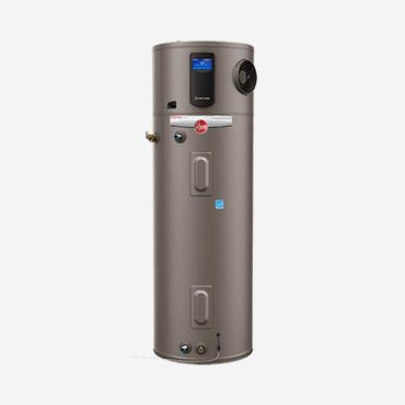 Rheem electric water heaters.