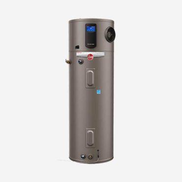 Rheem electric water heaters.